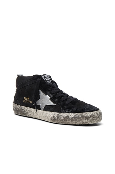 Suede Mid Star Sneakers