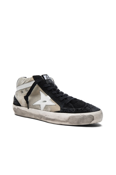 Velvet Mid Star Sneakers
