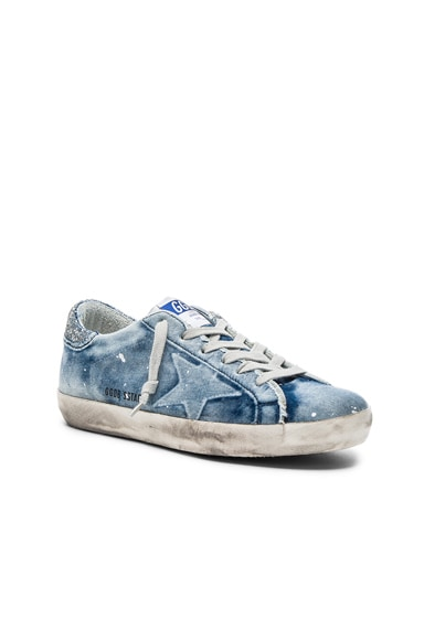 Denim Superstar Low Sneakers