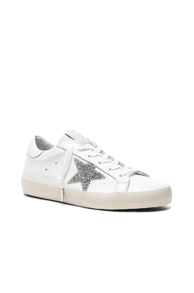Swarovski Crystal Embellished Superstar Low Sneakers