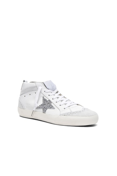 Swarovski Crystal Embellished Mid Star Sneakers