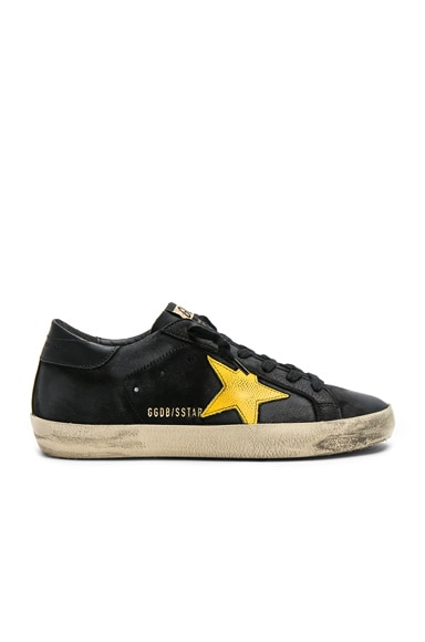 Nubuck Leather Superstar Sneakers