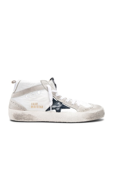 Nylon Mid Star Sneakers