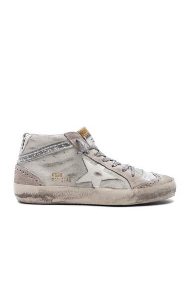 Suede Mid Star Sneakers