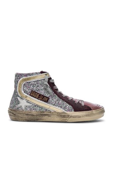 Glitter Slide Sneakers