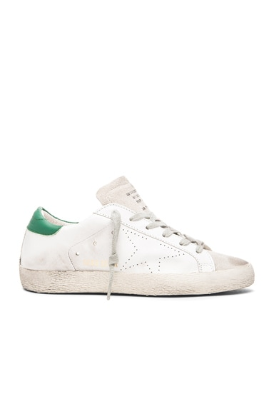 Superstar Low Top Leather Sneakers