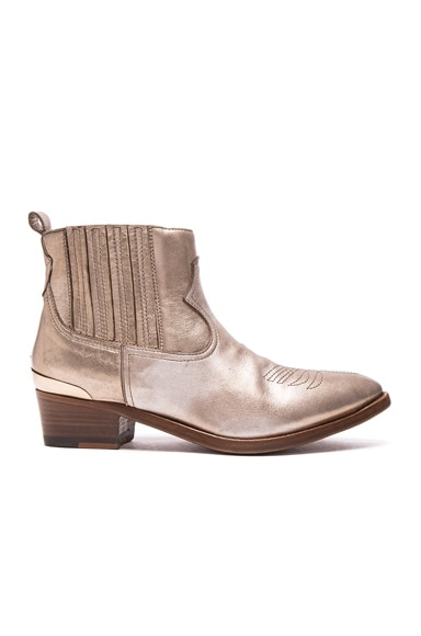 Golden Goose Daisy Boots in Platinum