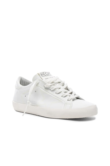 Glow Superstar Leather Low Sneakers