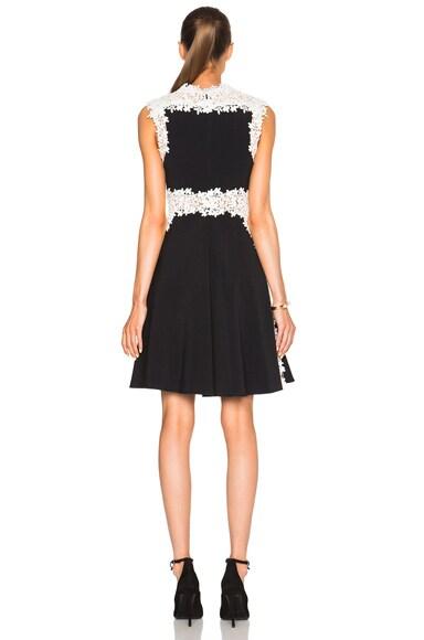 Lace & Crepe Cady Dress