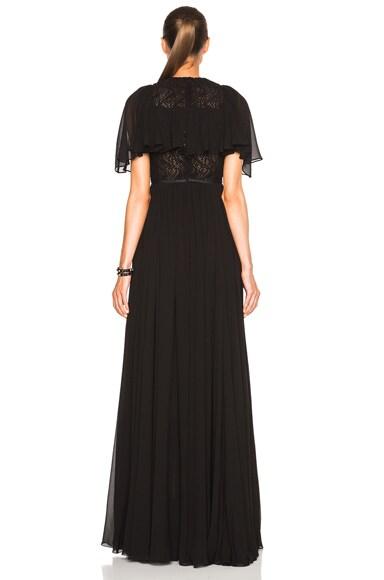 Georgette Short Sleeve Dress