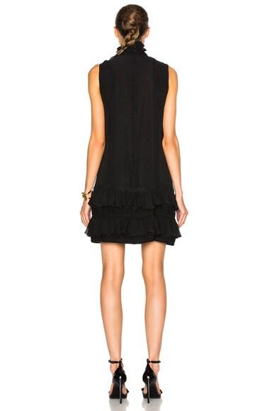 Sleeveless Ruffle Georgette Dress