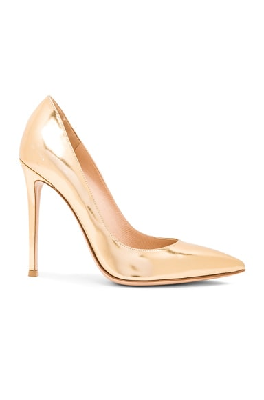 Metallic Leather Gianvito Pumps