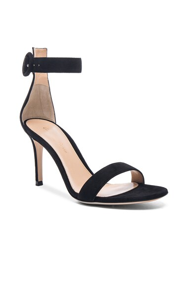 Suede Portofino 85 Heels