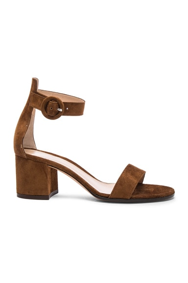 Gianvito Rossi Suede Sandals in Texas