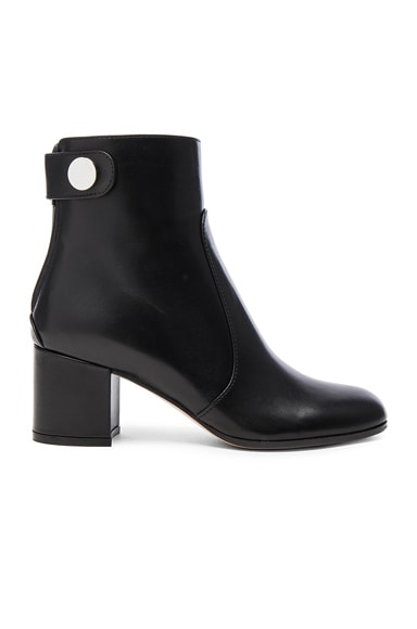 Gianvito Rossi Leather Boots in Black