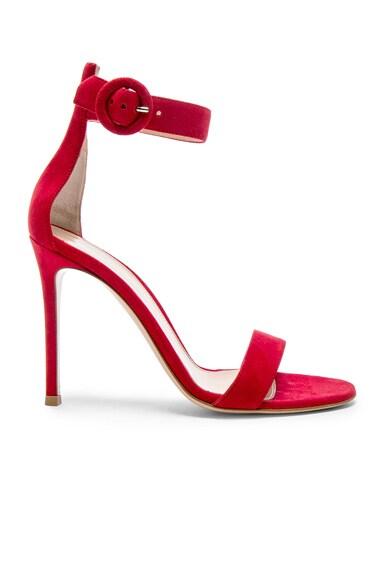 Suede Portofino Heels