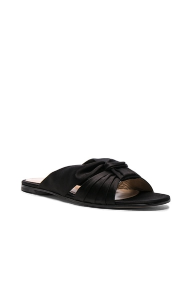 Satin Blair Knot Sandals