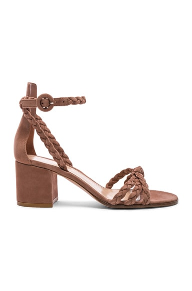 Braided Suede Liya Sandals