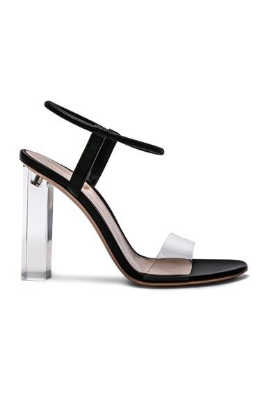 Leather & Plexi Hanne Sandals