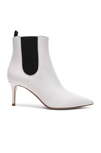 for FWRD Leather Evan Stiletto Ankle Boots