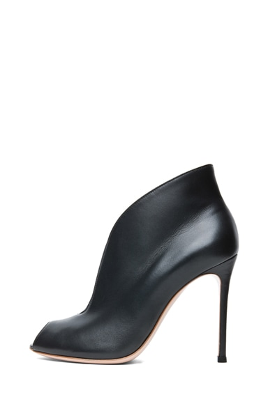 Nappa Leather Booties