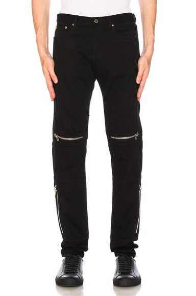Distressed Biker Jeans Givenchy