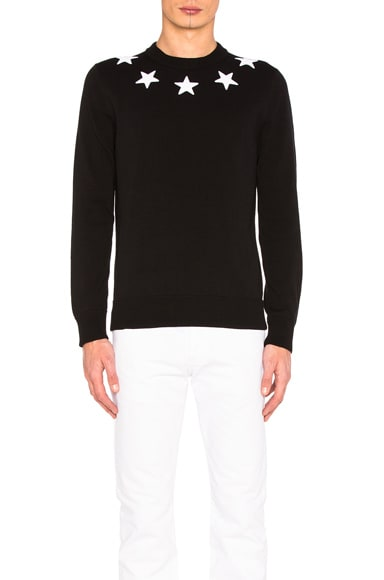 Star Collar Sweater