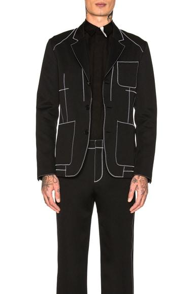 Contrast Stitch Jacket