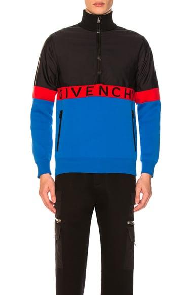Half-Zip Colorblock Jacket