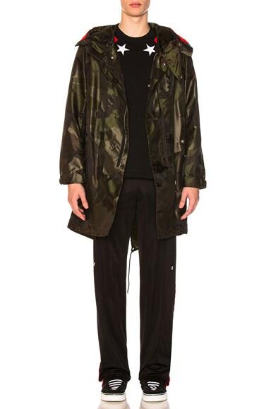 Hooded Fishtail Jacket