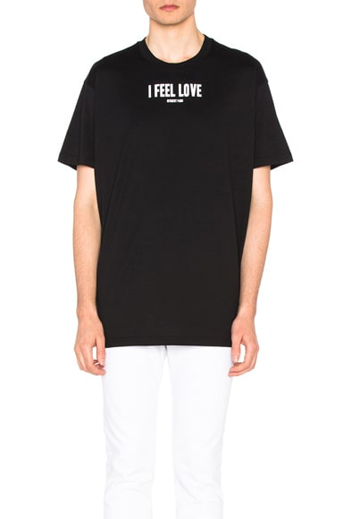Givenchy Logo Tee in Black