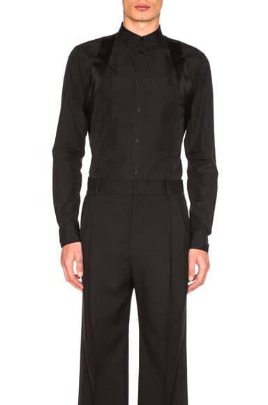 Givenchy Strap Shirt in Black