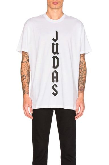 Givenchy Judas Tee in White