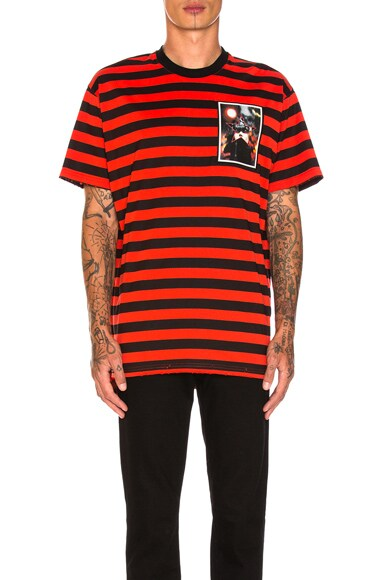 Destroyed Striped Tee