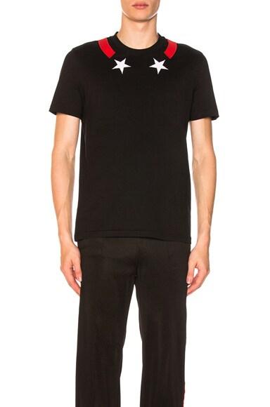 Star Neck T-Shirt