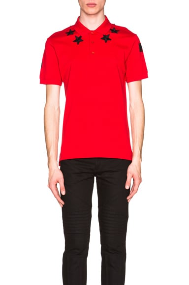 Cuban Fit Star Collar 74 Polo