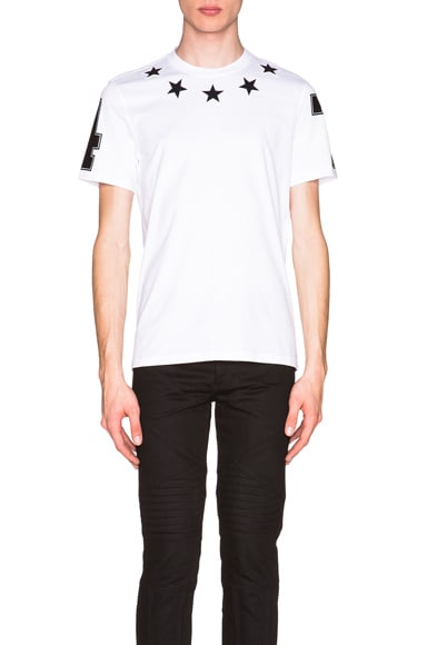 Cuban Fit Star Collar 74 Tee
