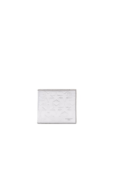 Star Embossed Billfold Wallet