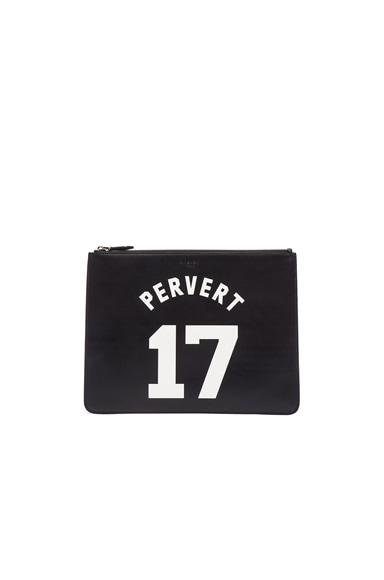 GIVENCHY Large Pervert Pouch in Black