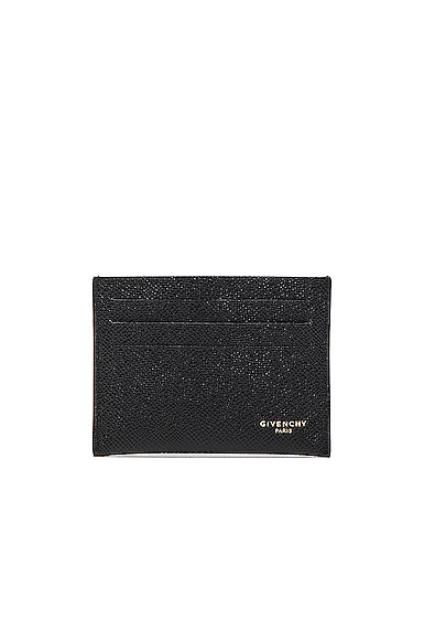Givenchy Leather Double Cardholder in Black
