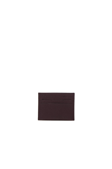 Leather Double Cardholder