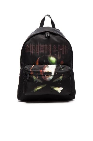 Army Skull Print Backpack