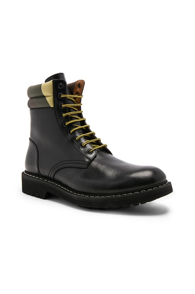 Tank Leather Combat Boots