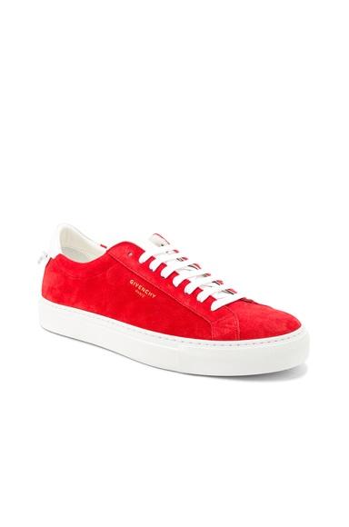 Suede Urban Street Low Top Sneakers