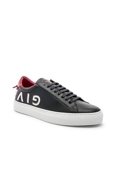 Leather Urban Street Low Sneakers
