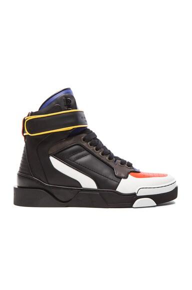 Multicolor Tyson Leather Sneakers