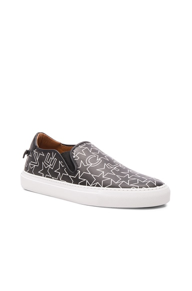 Coated Canvas Street Skate Sneakers