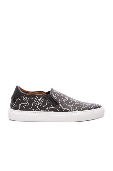 Coated Canvas Street Skate Sneakers