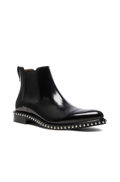 Givenchy Iconic Stud Ankle Boots in Black