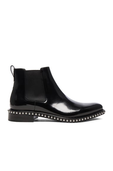 Iconic Stud Ankle Boots